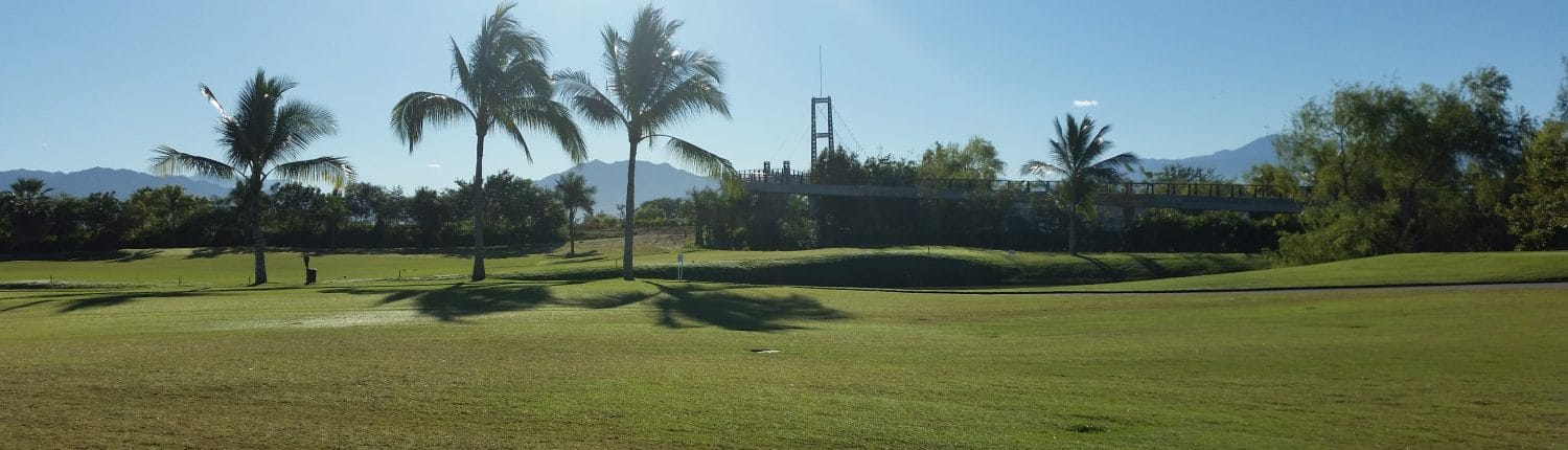 Banner image of golf course in Rivera Nayarit Mexico