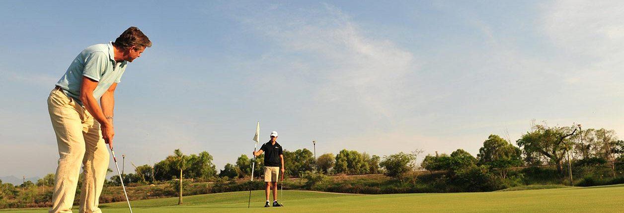 Putting on El Nayar Golf Course - Vidanta Golf Nuevo Vallarta Riviera Nayarit Mexico