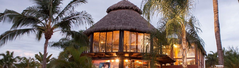 View of Spa at Belair Collection Hotel in Imanta Resort Hotel in Punta de Mita Riviera Nayarit Mexico