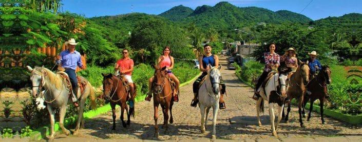 Caballos - horseback riding in Riviera Nayarit Mexico