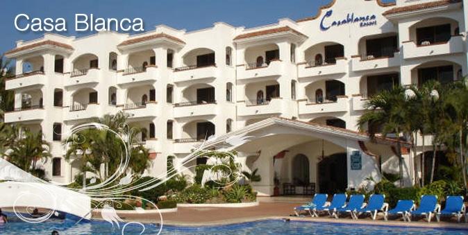 Casa Blanca Hotel in Rincon de Guayabitos Riviera Nayarit Mexico