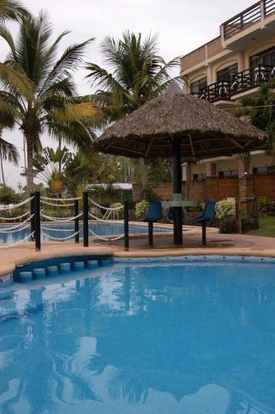 Pool at Casa Mañana in San Blas Riviera Nayarit Mexico