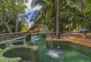 Pools at Away Spa in W Punta de Mita Hotel Riviera Nayarit Mexico