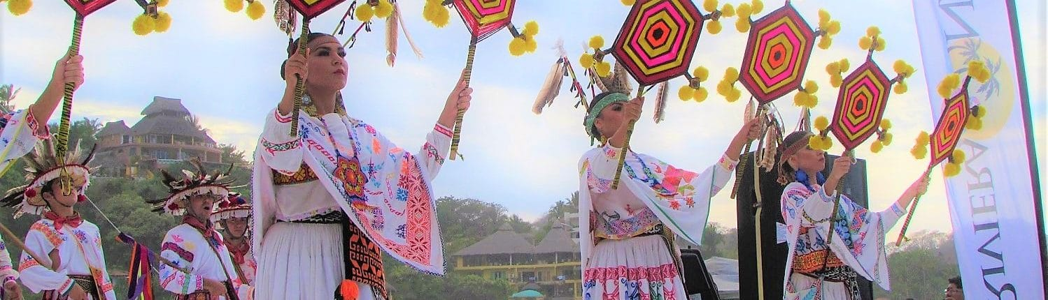 Dancers in Traditional Mexican dress - Riviera Nayarit events