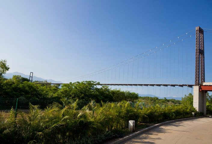 Greg Norman Golf Course foot bridge - Riviera Nayarit Mexico