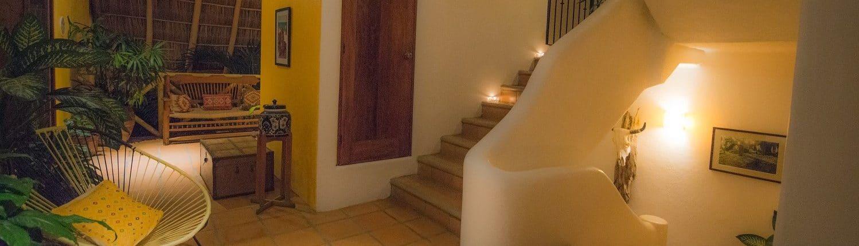 Lobby at Hotel Cielo in San Francisco Riviera Nayarit Mexico