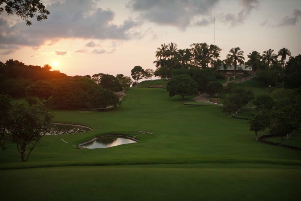 Las Huertas Golf & Beach Club Golf Range - Riviera Nayarit Mexico
