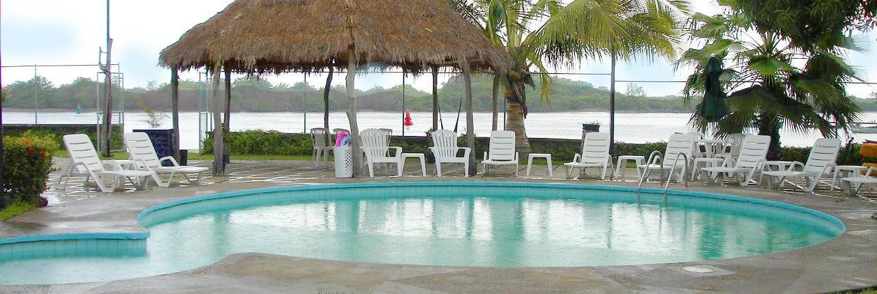 Pool at Hotel Marina San Blas in Riviera Nayarit Mexico