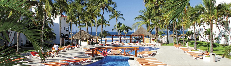 Pool at Marival Resort in Nuevo Vallarta Riviera Nayarit Mexico