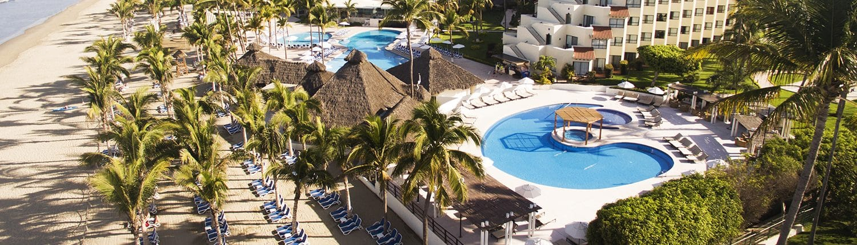 Pool at Occidental Grand Hotel in Nuevo Vallarta Riviera Nayarit Mexico