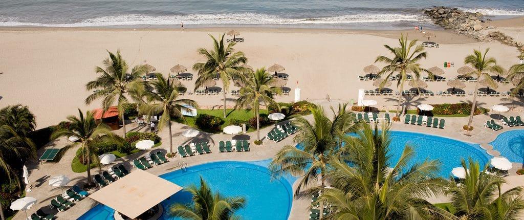 Pool at Ocean Breeze hotel in Nuevo Vallarta Riviera Nayarit Mexico