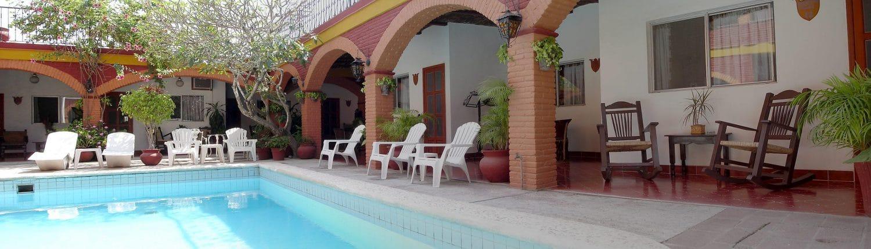 Pool at Posada del Rey Hotel in San Blas Riviera Nayarit Mexico