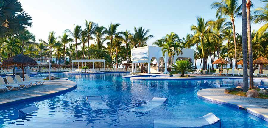 Pool at Riu Jalisco Hotel in Nuevo Vallarta Riviera Nayarit Mexico
