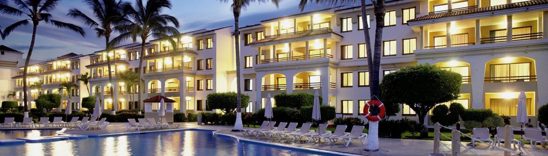 Pool at Samba Vallarta Hotel in Nuevo Vallarta Riviera Nayarit Mexico