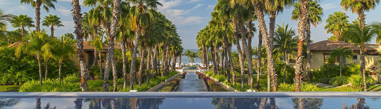 Pool at St Regis Hotel in Punta de Mita Riviera Nayarit Mexico