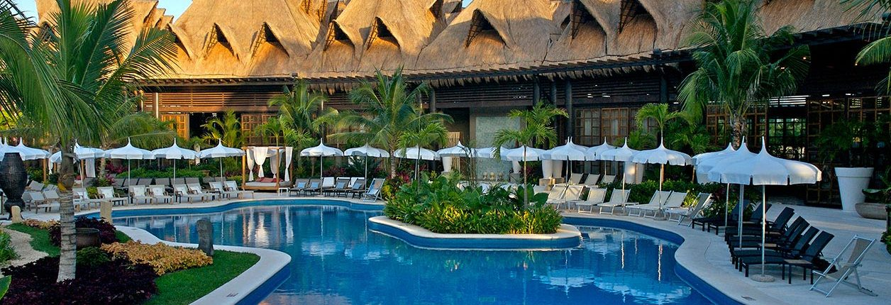 Pool at Grand Mayan Hotel in Nuevo Vallarta Riviera Nayarit Mexico
