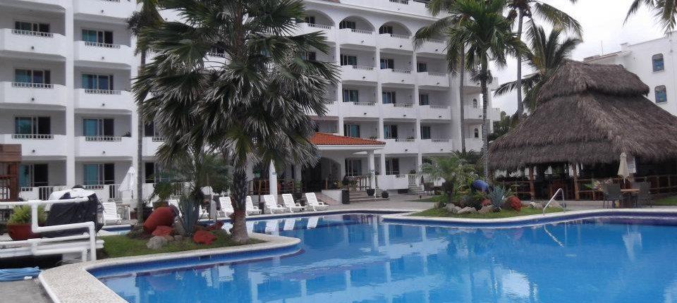 Pool at Torre Blanca Hotel in Rincon de Guayabitos Riviera Nayarit Mexico