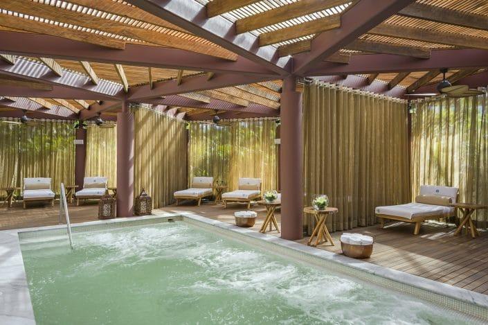 Spa pool at Imanta Resort Hotel in Punta de Mita Riviera Nayarit Mexico