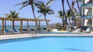 Pool at Vista Vallarta Hotel in Bucerias Riviera Nayarit Mexico