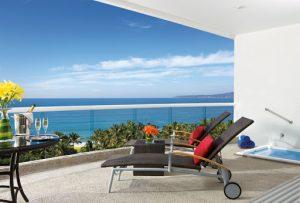 View from balcony of Dream Villamagna Hotel in Nuevo Vallarta Riviera Nayarit Mexico