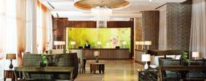 Lobby of Grand Bliss Resort Hotel in Nuevo Vallarta Riviera Nayarit Mexico