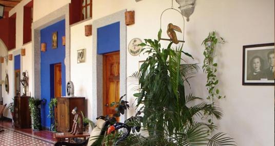 Hacienda Flamingos Hotel entrance in San Blas Riviera Nayarit Mexico
