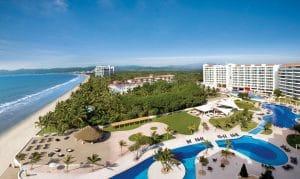 View from Hotel suite at Dream Villamagna in Nuevo Vallarta Riviera Nayarit Mexico