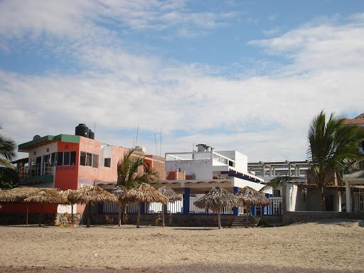 View from beach of Hotel El Coral in Lo de Marcos Riviera Nayarit Mexico