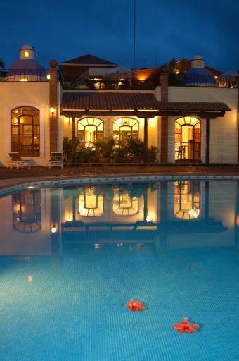 Pool at Hotel Garza Canela in San Blas Riviera Nayarit Mexico