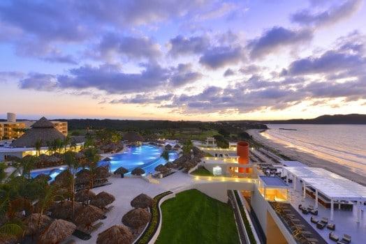 View of pool and beach from Iberostar Playa Mita in Litibu Riviera Nayarit Mexico