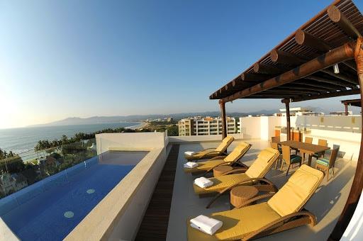 Balcony view at Marival Residences Luxury Resort in Nuevo Vallarta Riviera Nayarit Mexico