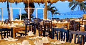Restaurant at Royal Decameron Hotel in Bucerias Riviera Nayarit Mexico