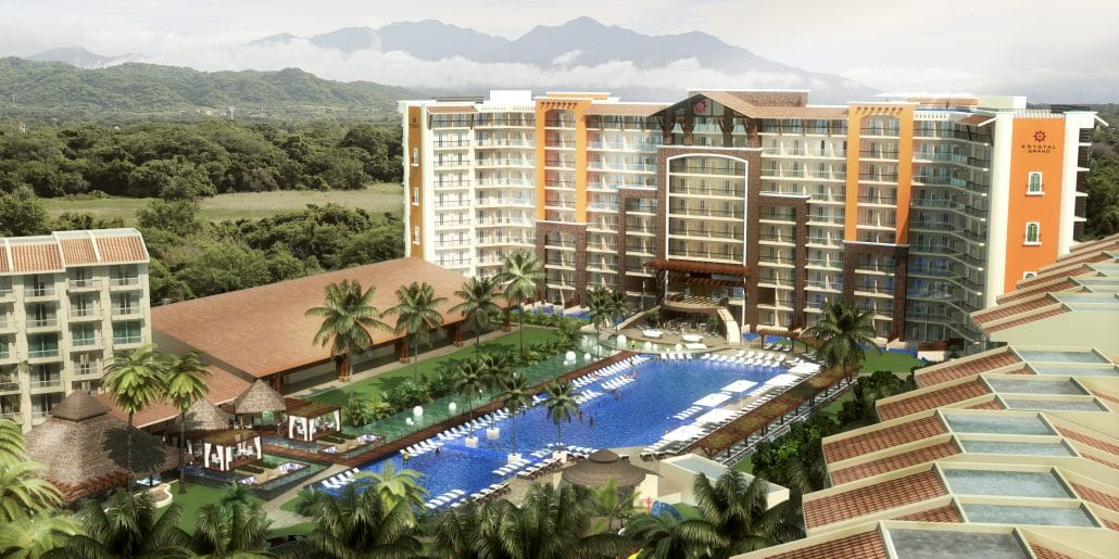 Krystal Grand Hotel in Nuevo Vallarta Riviera Nayarit Mexico