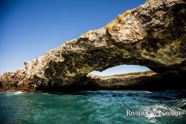 The Bridge at Islas Marietas in Riviera Nayarit Mexico