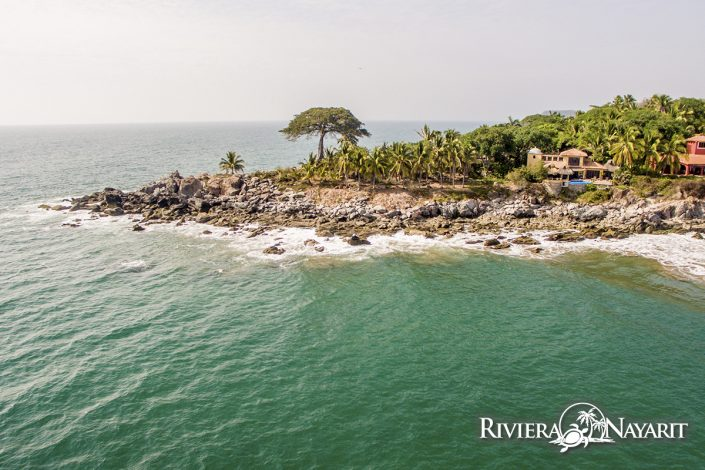 Oceanfront homes in Punta Custodio Riviera Nayarit Mexico