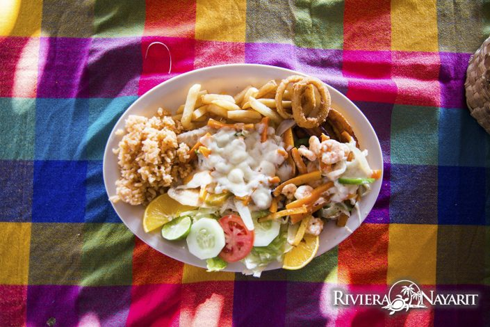 Gastronomy in San Blas Riviera Nayarit Mexico - restaurant dish