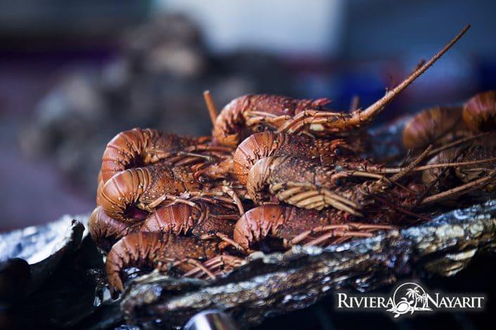 Fresh Shrimp - gastronomy in San Blas Riviera Nayarit Mexico