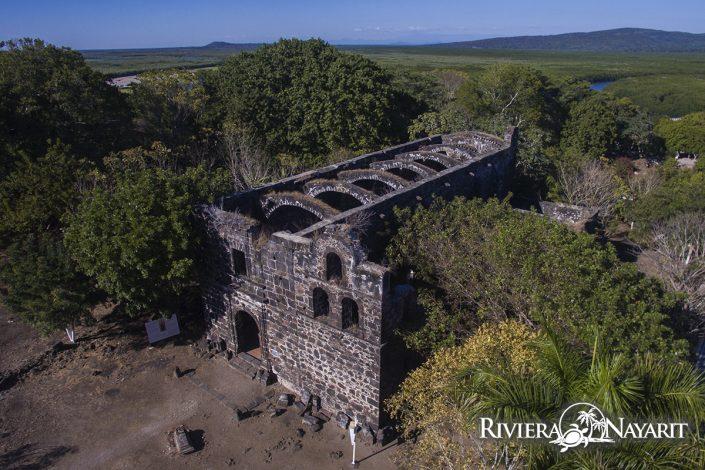Ruins in San Blas Riviera Nayarit Mexico