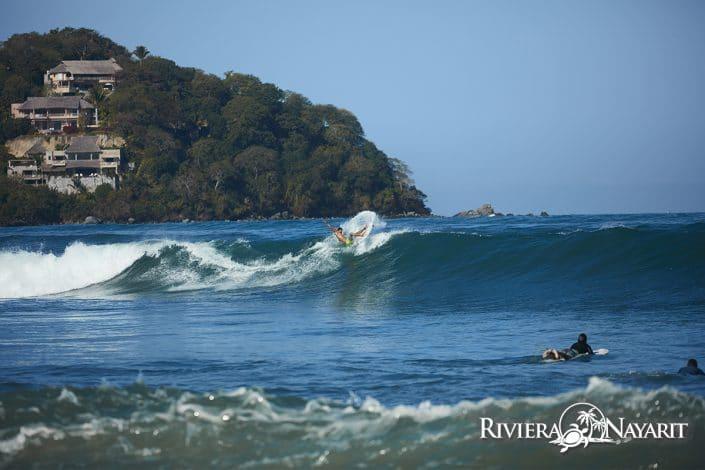 Surfing in Sayulita Riviera Nayarit Mexico
