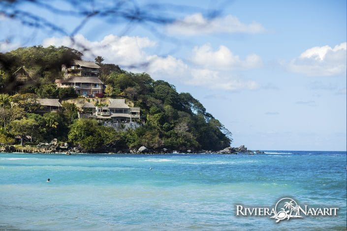 Sayulita beachfront homes in Riviera Nayarit Mexico