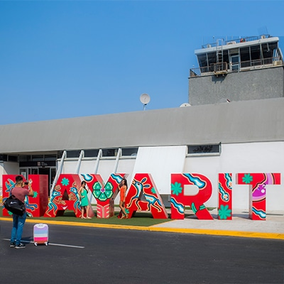 Aeropuerto Tepic in Rivera Nayarit MX