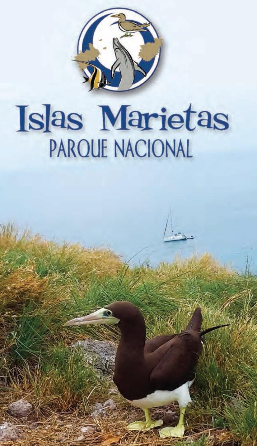 Islas Maristas Parque Nacional brochure - Marist Islands National Park in Riviera Nayarit MX