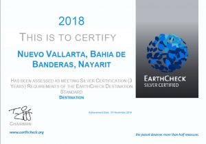 2018 Earth Check Certified