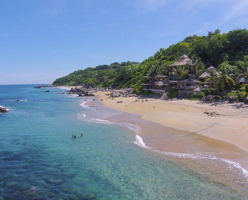 Playa Escondida beach in Riviera Nayarit