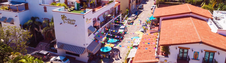 Hotel Refuio del Mar in Bucerias Nayarit MX