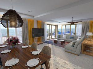 Luxury Suite at Conrad Hotel Punta de Mita Riviera Nayarit Mexico
